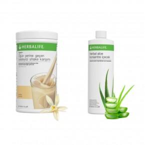 Vanilyalı Shake + Aloe Konsantre İçecek